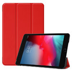 Trifold Sleep/Wake Smart Case for Apple iPad Mini (4th / 5th Gen) - Red
